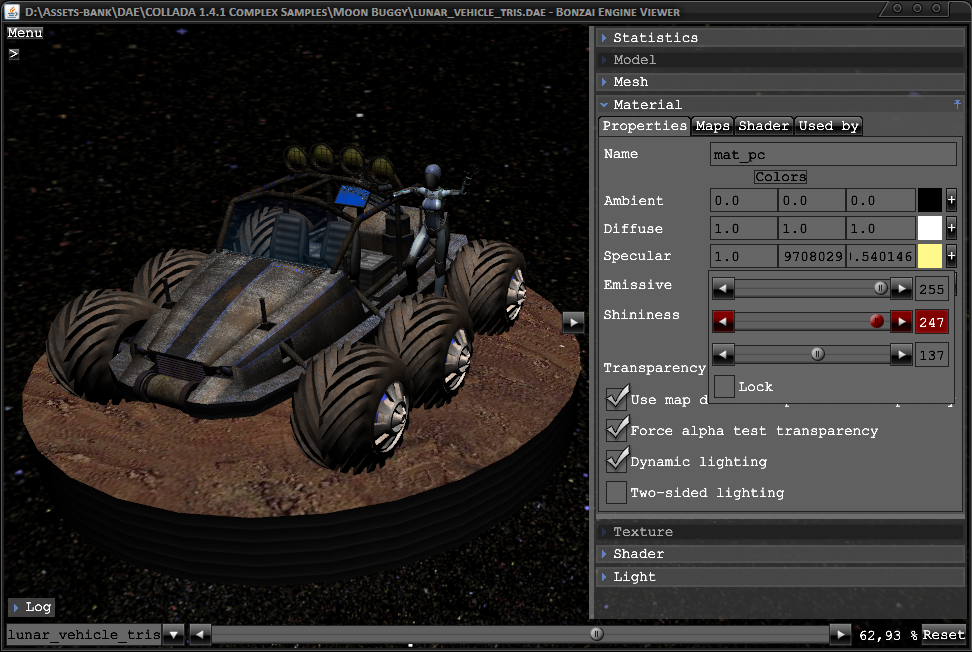 Bonzai Engine - A 3D engine and tools for Windows/Mac/Linux